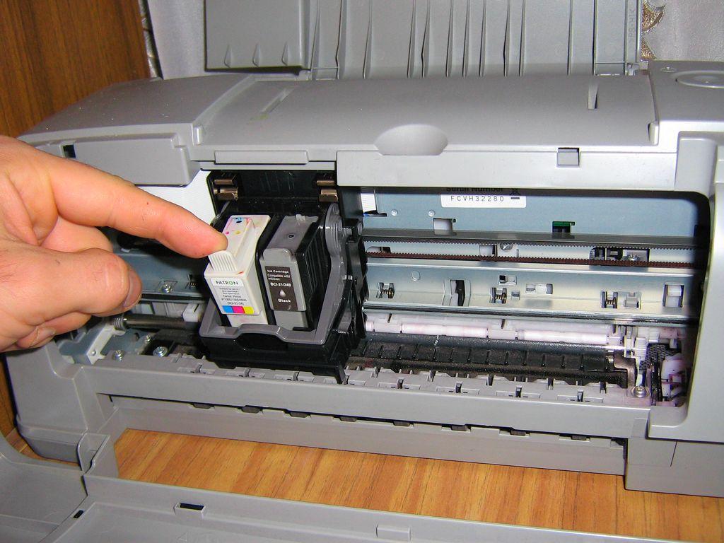 Ремонт принтера на дому своими 48